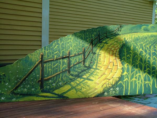 The Wizard of Oz-Corn Fields