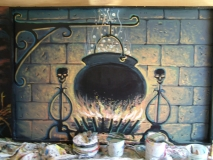 The Wizard of Oz-Fireplace